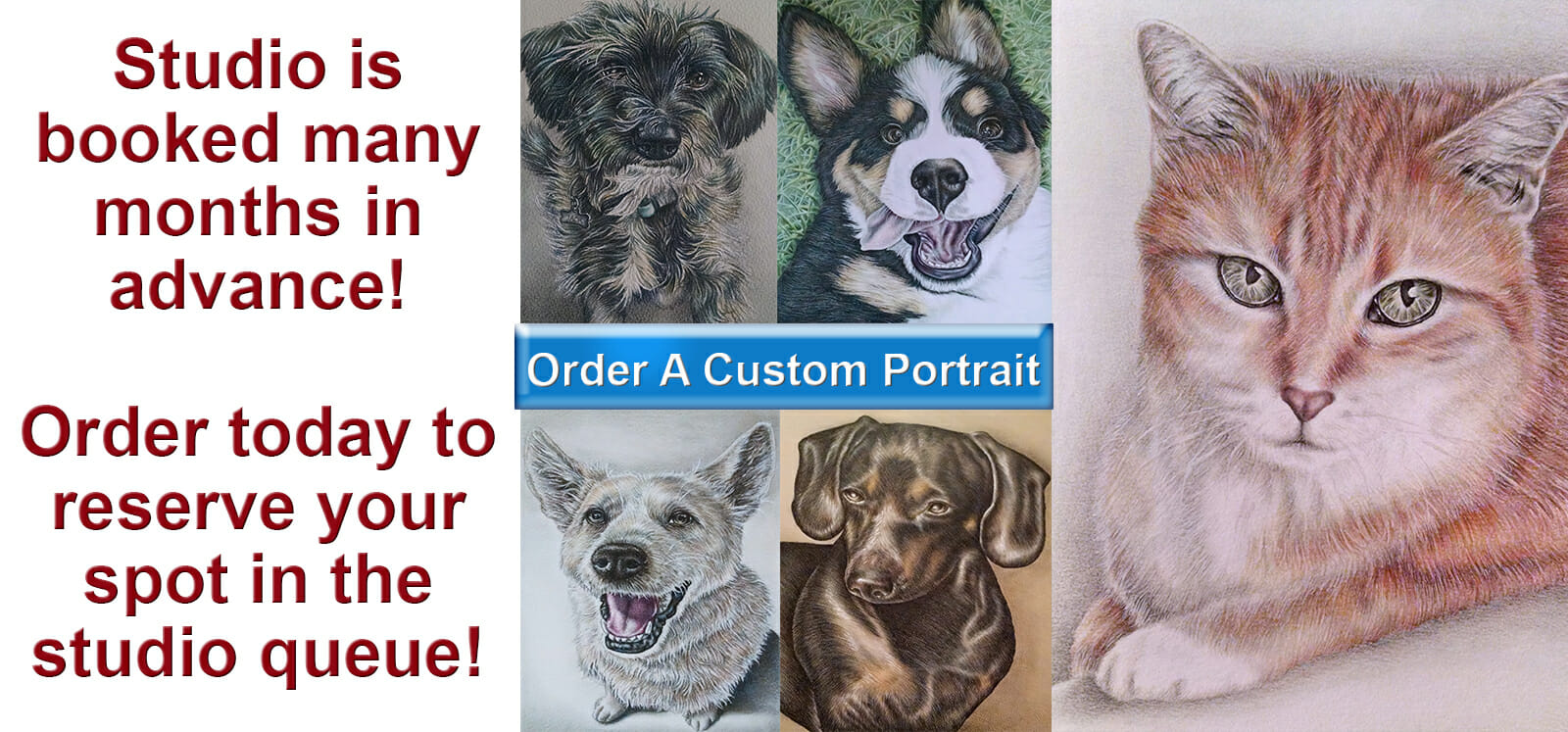 Order Custom Portrait Today