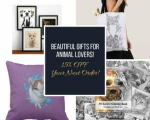 save 15% on animal lover gifts