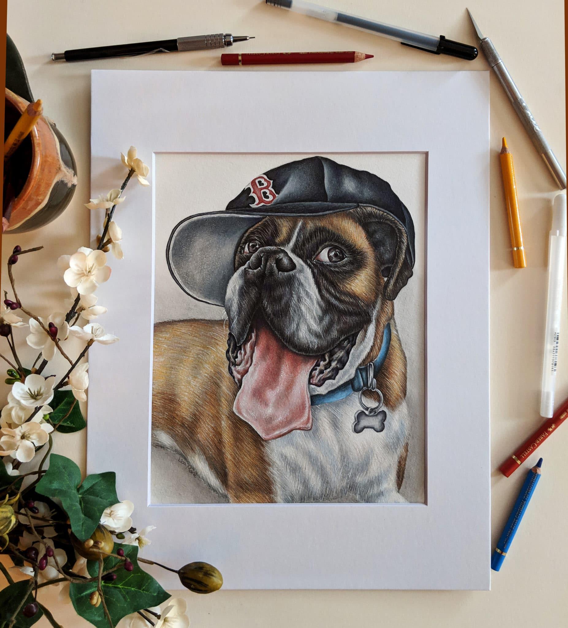 NEW Custom Dog Drawing || Pencil Drawing of Pet